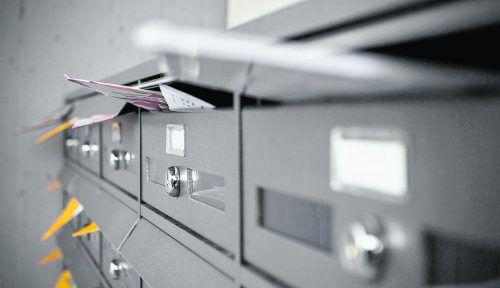 Nur komplette Hausbrieffachanlagen garantieren das Briefgeheimnis. Foto: Shutterstock