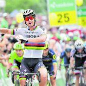 Peter Sagan holte sich den Rekord-Etappensieg