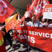 Aufmarsch gegen Macron