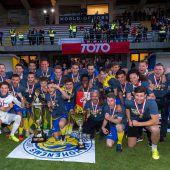 Favorit Hohenems fixiert im Elferschießen fünften Cuptitel