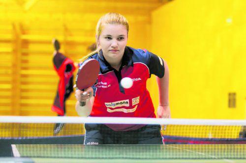Sarah Ender war aus heimischer Sicht die beste Spielerin.                 Foto: Hartinger
