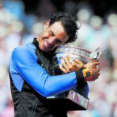 Nadal krönte sich zum zehnten Mal