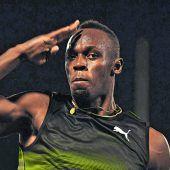 Usain Bolt gibt ein Gastspiel in Monaco