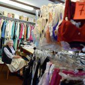 Dessousverkäuferin hört mit 98 Jahren auf