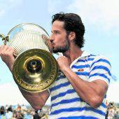 Federer im Eiltempo zu Titel neun