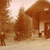 vorarlberg einst und jetzt. Familienkapelle Fraxern
