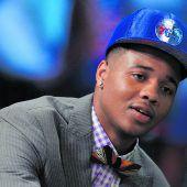 Philadelphia holte sich im Draft Fultz