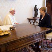 Der Papst und die Kanzlerin