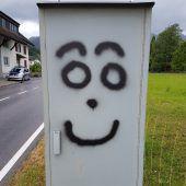 Radarboxen-Sprayer auf nächtlicher Tour