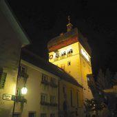 Martinsturm strahlt nun hell erleuchtet