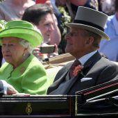 Die Queen und Prinz Philip feiern Verlobungs-Jubiläum