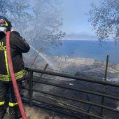 Brände halten Italiens Feuerwehren auf Trab
