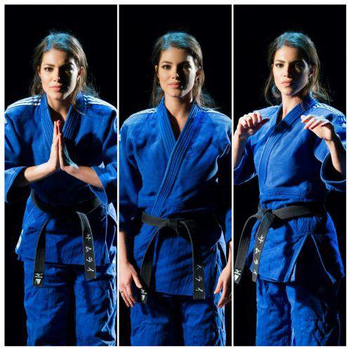 Amina Dagi ist 5-fache Landesmeisterin im Judo. Bald wird sie für die Internationale Judo-Föderation arbeiten.