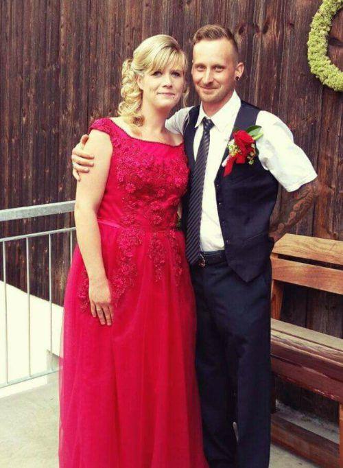 Angela und Michael Wolf aus Riefensberg gaben sich im Standesamt in Hittisau das Ja-Wort. Foto: Wolf