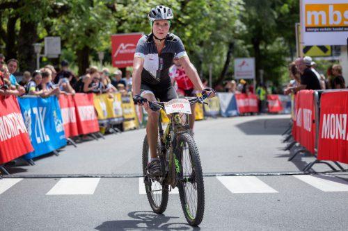 Anna Stöckler eroberte mit Rang vier beim M2 den Marathon-Landesmeistertitel bei den Damen. Foto: haller