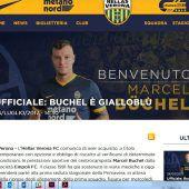 Hellas Verona sichert sich Dienste von Marcel Büchel