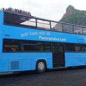 Neues Busfahr-Erlebnis zum 20-Jahr-Jubiläum