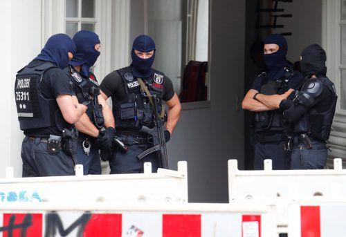 Bei einer Razzia in Berlin nahm die Polizei am Mittwoch vier verdächtige Museumsdiebe fest.  Foto: Reuters