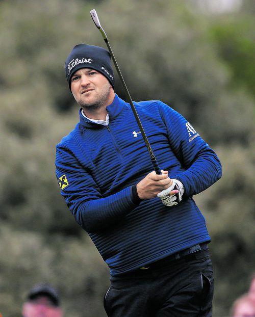 Bernd Wiesberger trotzte den schwierigen Bedingungen bei den British Open und spielt im Finale mit.Foto: reuters