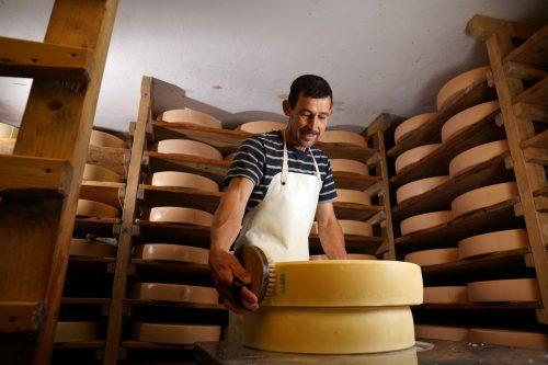 """""""Bis ein Käse reif ist, habe ich ihn mindestens 100 Mal umgedreht."""""""