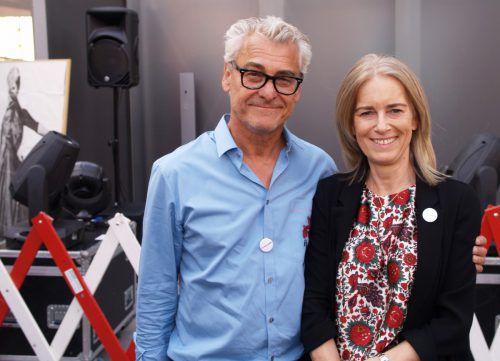 Bruno Jutz und Martina Hladik (roomservice). Fotos: SIE