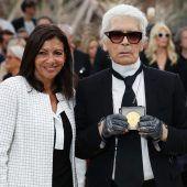 Paris verleiht Lagerfeld den Verdienstorden