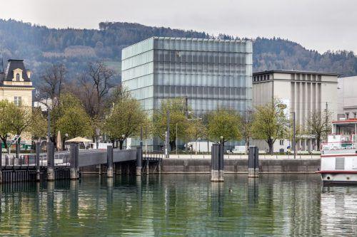 Das Kunsthaus Bregenz feiert den 20. Geburtstag. Bei freiem Eintritt, kostenlosen Kurzführungen, Musik, Tanz und tollen Attraktionen feiert die ganze Bevölkerung mit.foto: kub/markus tretter