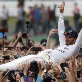 Hamilton rückt zu Vettel auf