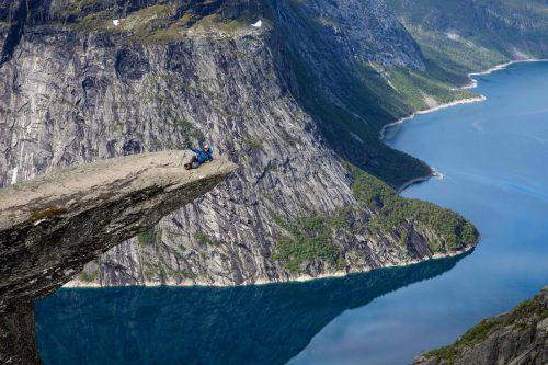 Den besonderen Kick kann man auch in Norwegen erleben, das zu den sichersten Ländern der Welt zählt. AFP
