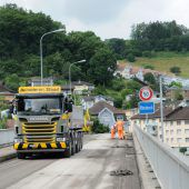 Grenzbrücke Gaißau bis zum  21. Juli gesperrt