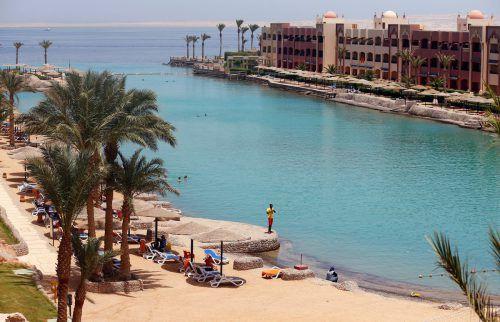 Der Attentäter stach an diesem Strand auf Touristen ein. reuters