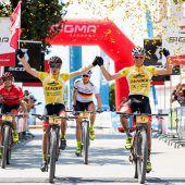 Déjà-vu-Triumph für Geismayr bei Transalp