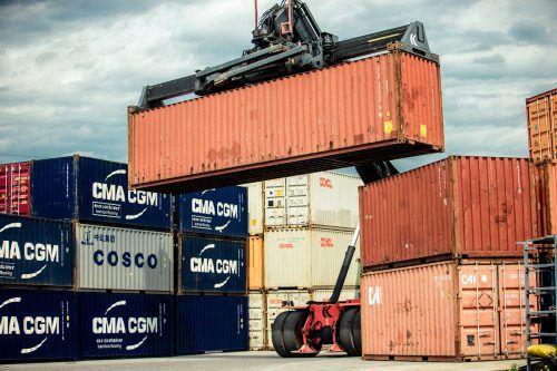Der Export ist maßgeblich für die positive Entwicklung der Wirtschaft im Land verantwortlich. Foto: VN/steurer