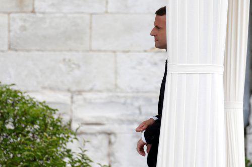 Der französische Präsident will seine Pläne notfalls auch ohne die EU umsetzen. Foto: Reuters