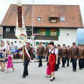 Ortsfeuerwehr Fraxern feierte Gründungsfest