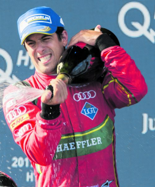 Der neue Formel-E-Champion: Lucas Di Grassi.Foto: ap