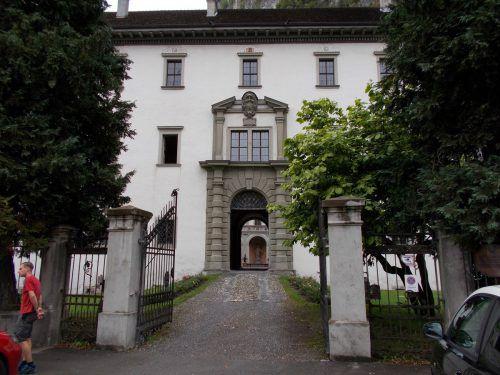 Der Palast von Hohenems ist einer der schönsten Renaissancebauten im Bodenseegebiet.Foto: bet