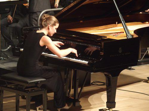 Die 17-jährige Liechtensteinerin Isa-Sophie Zünd.