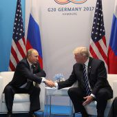 Geheimes Dinner mit Putin