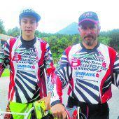 BMX-Duo auf großer Reise
