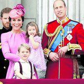 Royals verreisen mit den Kindern