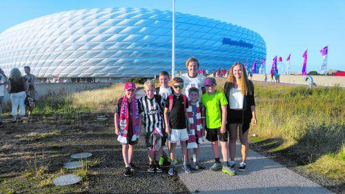 Die ehemalige FC-Bayern-Spielerin Sonja Spieler ist immer wieder zu Gast in der Allianz Arena.privat/gepa