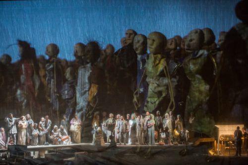 """Die Inszenierung von Rossinis """"Moses in Ägypten"""" kommt von den Bregenzer Festspielen an die Kölner Oper."""