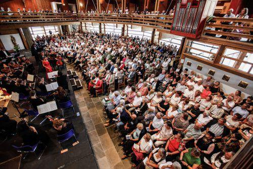 Die Neue Kirche in Lech ist Austragungsort für das etablierte Lech Classic Festival.Foto: Lech Zürs Tourismus