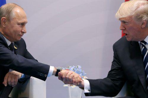 Die Präsidenten diskutierten stundenlang lang miteinander. Beide zeigten sich optimistisch.