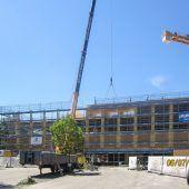 33 Meter Spannweite für Harder Sporthalle
