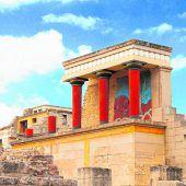 Der Palast von Knossós