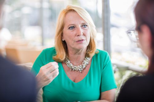Doris Bures hofft im VN-Gespräch, dass noch vor der Nationalratswahl eine Reform der Klubförderung zustande kommt.Foto: VN/SAMS