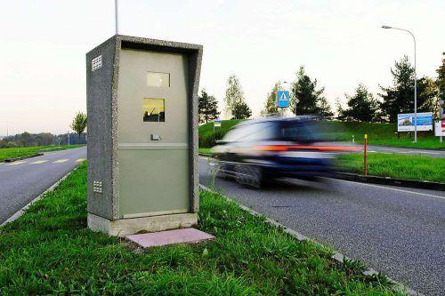 Eine Schweizer Radarfalle wurde für einen Vorarlberger Schnellfahrer zum Verhängnis. Foto: Keystone