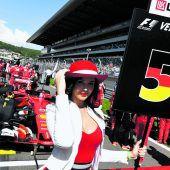 Rüffel am 30. Geburtstag, eine Sperre blieb Vettel erspart